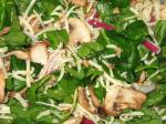 Swiss Spinach Salad With Poppy Seed Dressing 4 Appetizer