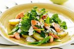 British Salmon And Potato Salad With Mustard Chive Dressing Recipe Appetizer