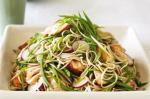 British Salmon Soba Noodle Salad With Ginger Dressing Recipe Dinner