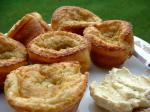 American Popovers With Sage Dessert