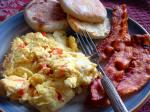 American Peppercheese Scramble Breakfast