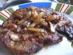 American Steak with Caramelized Onions Dinner