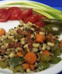American Savory Blackeyed Peas With Bacon Appetizer