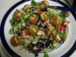 American Vegan Falafel Salad Appetizer