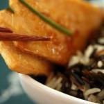 American Fried Tofu with Wild Rice 1 Dinner