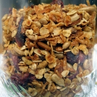 Canadian Homemade Granola Breakfast