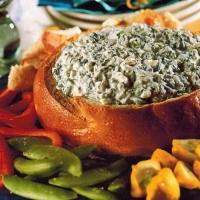 American Spinach Dip 2 Appetizer