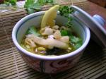 Chinese Chiang Mai Curried Noodle and Chicken Soup kao Soi Gai Soup
