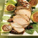 American Balsamic Fig Grilled Pork Dinner
