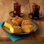 Greek Almond Semolina Cake Dessert