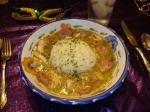 French Mardi Gras Chicken and Sausage Gumbo Appetizer