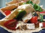 British Grilled Lemon Chicken Wrap With Chilli Mayonnaise BBQ Grill