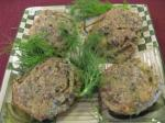 Danish Blue Cheese Baked Fennel BBQ Grill