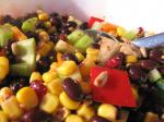 Canadian Healthy Black Bean Salad Appetizer
