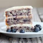 American Melt-in-your-mouth-blueberry-cake Dessert
