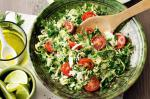 American Brussels Sprouts tabbouleh Recipe Appetizer
