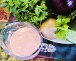 American Moms Creamy Cheesy Berry Salad Dressing Appetizer