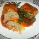 American Stuffed Cabbage Minced Meat Appetizer