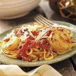 American Seafood Medley with Linguine Dinner