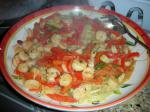 American Linguine with Spicy Shrimp Sauce Dinner
