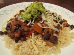 American Super Quick Black Beans and Rice Dinner