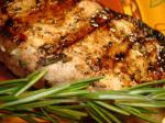 American Grilled Rosemary Garlic Pork Chops Appetizer