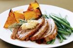 American Roast Lamb With Pumpkin Beans And Hommus Recipe Appetizer
