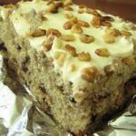 American Banana Cake of Julia Dessert