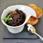 American Tapenade from Black Olives Dried Tomatoes and Basil Appetizer