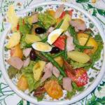 French Insalata Nizzarda Appetizer