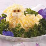 Polish Woolly Butter Lamb Appetizer