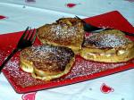 French French Toast With Raspberry Chocolate  Cream Cheese Breakfast