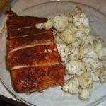 British Salmon from the Oven 1 Appetizer