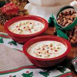 Canadian White Christmas Chili Appetizer