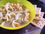 American C O R N Chicken Noodle Soup Appetizer
