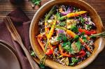 American Mixed Grain And Roast Vegetable Salad Recipe Appetizer
