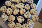 American Chewy Delicious Chocolate Chip Cookies Dessert