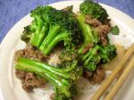 American The Best Easy Beef and Broccoli Stirfry Dinner