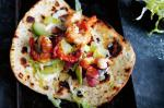 Prawn And Bacon Flatbreads Recipe recipe