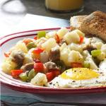 Canadian Sausage Breakfast Hash Appetizer