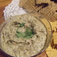 Indian Artichoke with Olive Dip Appetizer
