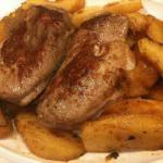 American Duck Breast with Apple Sauce Dinner