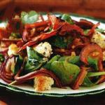 American Dry Salad of Spinach Appetizer