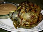 American Grilled Artichokes With Worcestershire Aioli Appetizer