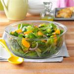 American Romaine and Orange Salad with Lime Dressing Appetizer