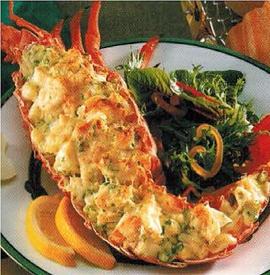 French Lobster Thermidor Dinner