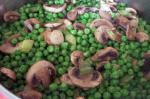 American Peas With Mushrooms 2 Appetizer