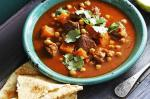 British Spiced Lamb And Pumpkin Soup Recipe Appetizer
