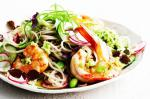 Canadian Soba Noodle And Prawn Salad With Edamame Pesto Recipe Dinner