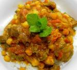 American Lamb and Chickpea Stew Dinner